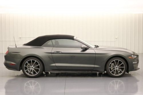 2018 Ford Mustang ECOBOOST 2.3 10 SPEED AUTOMATIC CONVERTABLE MSRP $34685