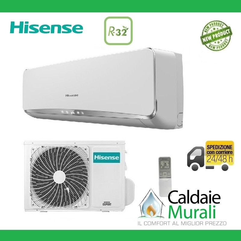 CLIMATIZZATORE HISENSE INVERTER NEW ECO EASY 12000 BTU R-32 A++/A+ TE35YD01G NEW